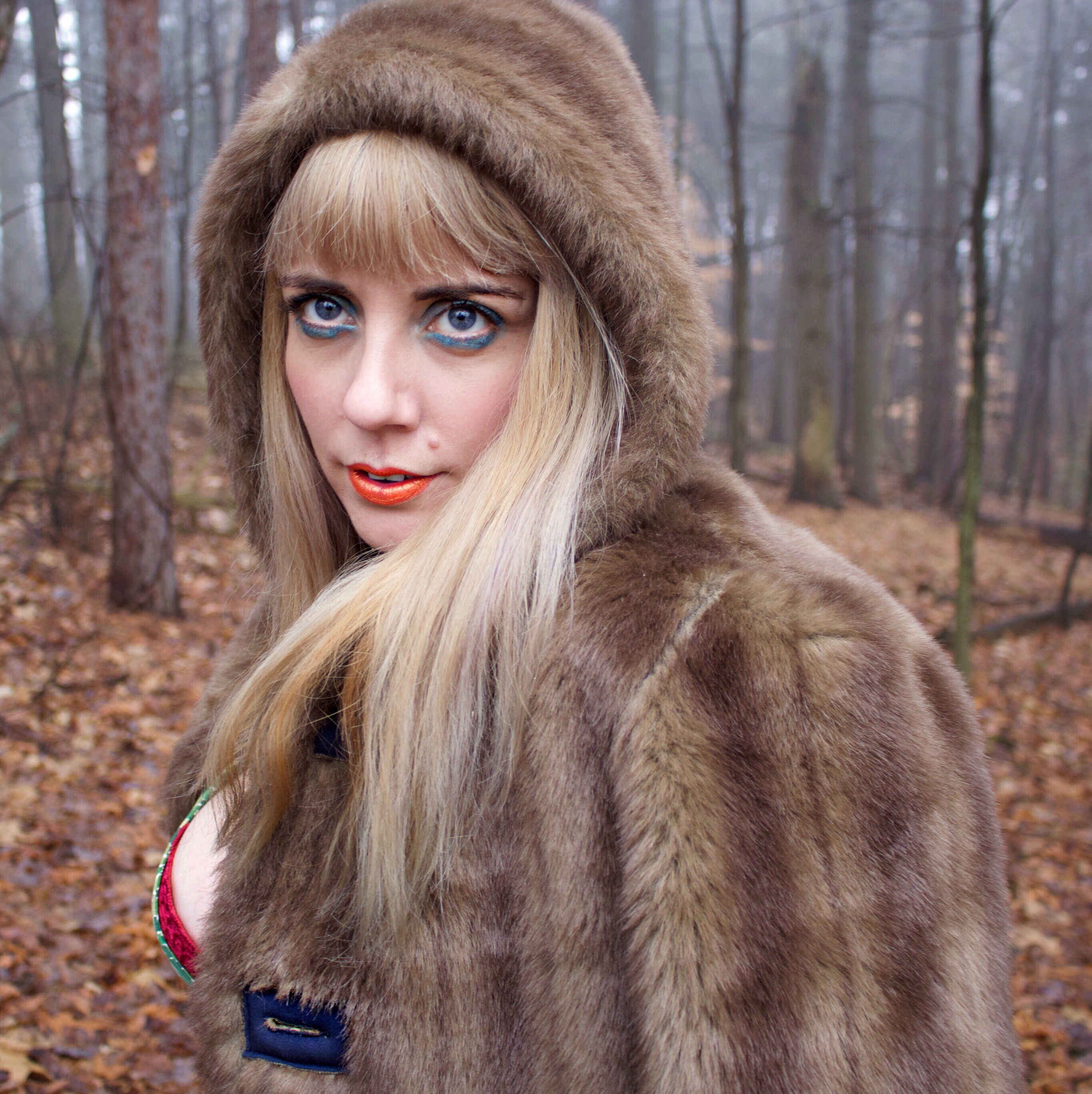 Faux Fur Femme of the Forest