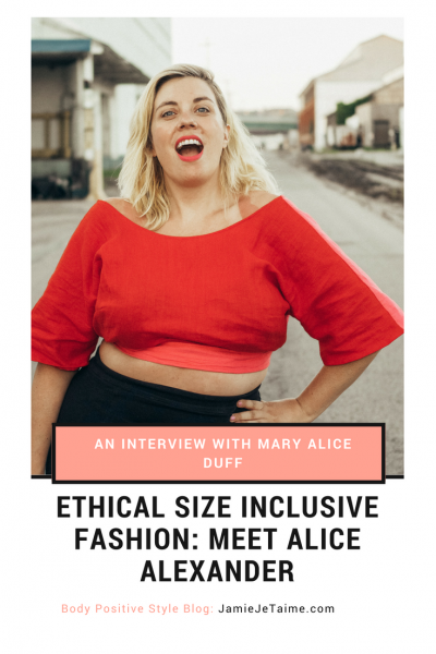Ethical Plus Size Style