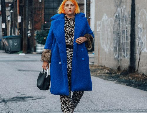 Plus Size Fall Fashion Trends 2018: Teddy Coats & Leopard Print